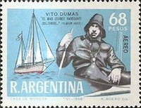 [Airmail - Vito Dumas' World Voyage in Yacht