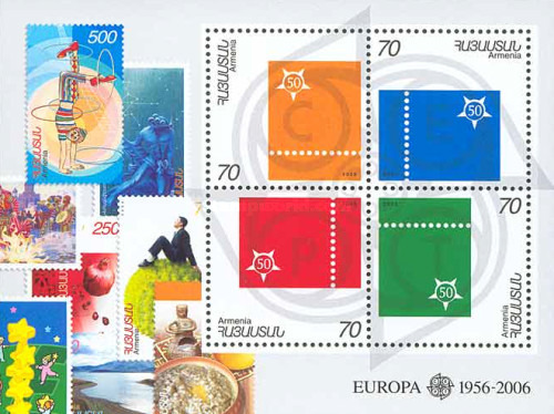 [The 50th Anniversary of the First EUROPA Stamps, type ]