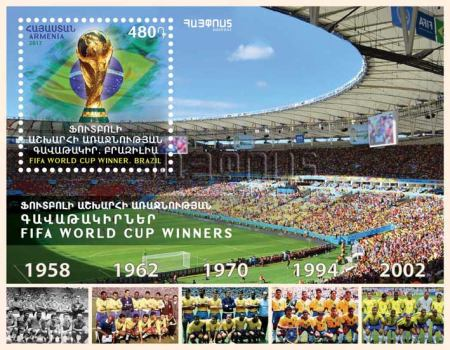 [Football - FIFA World Cup Winners, Brazil, type ]