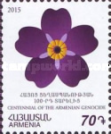 [Forget-Me-Not Flowers - The 100th Anniversary of the Armenian Genocide, type ADX]