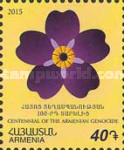 [Forget-Me-Not Flowers - The 100th Anniversary of the Armenian Genocide, type ADX9]