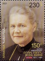 [The 150th Anniversary of the Birth of Bodil Biorn, 1871-1960, type AYY]