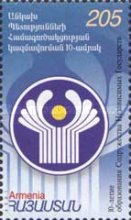 [The 10th Anniversary of the Union of Independent States, type LT]