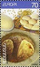 [EUROPA Stamps - Gastronomy, type ON]