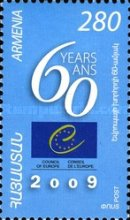 [The 60th Anniversary of the Council of Europe, type UA]