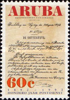 [The 100th Anniversary of the Postal Service, type CY]