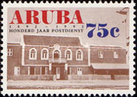 [The 100th Anniversary of the Postal Service, Typ CZ]