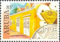 [Historical Museums: Museum in Oranjestad, Typ NT]