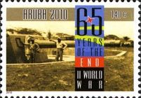 [The 65th Anniversary of the End of World War II, type QW]