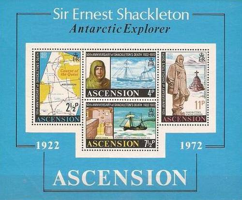 [The 50th Anniversary of the Death of Ernest Shackleton, 1874-1922, type ]