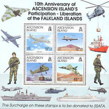 [The 10th Anniversary of Liberation of Falkland Islands - Aircraft, Typ ]