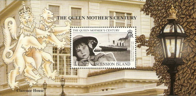 [The 100th Anniversary of Queen Elizabeth the Queen Mother, Typ ]