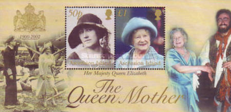 [Queen Elizabeth the Queen Mother Commemoration, Typ ]