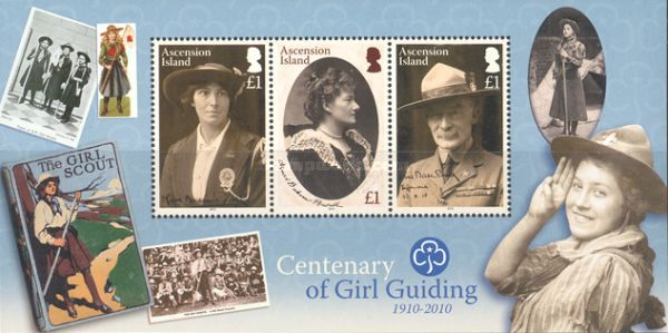[The 100th Anniversary of Girl Guiding, Typ ]
