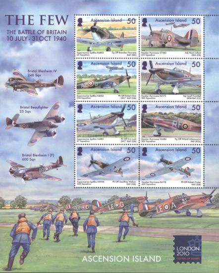 [The 70th Anniversary of the Battle of Britain - Airplanes, Typ ]