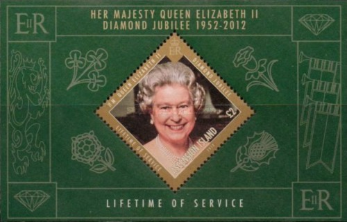 [The 60th Anniversary of the Accesion of Queen Elizabeth, Typ ]