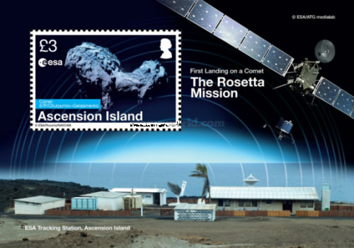[The Rosetta Mission -First Landing on a Comet, Typ ]
