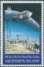 [The 30th Anniversary of the First Manned Landing on Moon, Typ AAD]