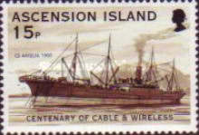 [The 100th Anniversary of Cable & Wireless Communications plc on Ascension, Typ AAP]