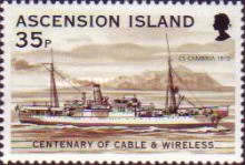 [The 100th Anniversary of Cable & Wireless Communications plc on Ascension, Typ AAQ]