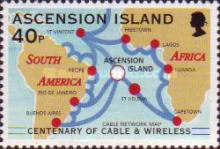[The 100th Anniversary of Cable & Wireless Communications plc on Ascension, Typ AAR]