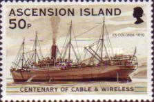 [The 100th Anniversary of Cable & Wireless Communications plc on Ascension, Typ AAS]