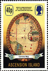 [The 500th Anniversary of the Discovery of Ascension Island, Typ ABX]
