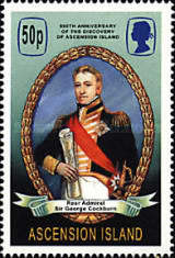 [The 500th Anniversary of the Discovery of Ascension Island, Typ ABY]