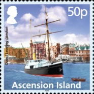 [The 90th Anniversary of the Shackleton-Rowett Polar Expedition of 1921-1922, type AOK]