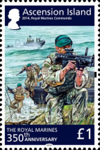 [The 350th Anniversary of the Royal Marines, Typ AQX]