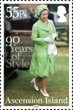 [The 90th Anniversary of the Birth of Queen Elizabeth II, type ASI]