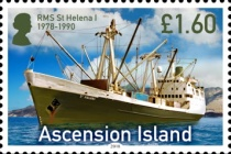 [Ships - RMS St Helena, Typ AUF]