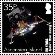 [The 50th Anniversary of the Apollo 11 Mission to the Moon, Typ AUP]