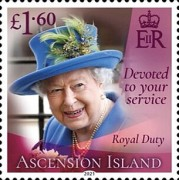 [Devoted to Your Service - The 95th Anniversary of the Birth of Queen Elizabeth II, type AVK]