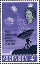 [Opening of Apollo Communication Satellite Earth Station, Typ BF]