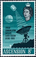 [Opening of Apollo Communication Satellite Earth Station, Typ BF1]