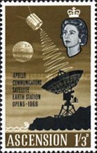 [Opening of Apollo Communication Satellite Earth Station, Typ BF2]
