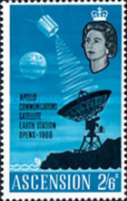 [Opening of Apollo Communication Satellite Earth Station, Typ BF3]