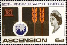 [The 20th Anniversary of UNESCO (1966), Typ BI]