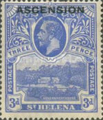 [Stamps of St. Helena of 1912 Overprinted