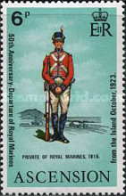 [The 50th Anniversary of Departure of Royal Marines from Ascension, type DO]
