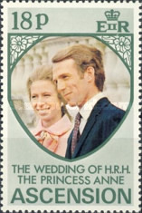 [Royal Wedding of Princess Anne and Mark Phillips, type DR1]