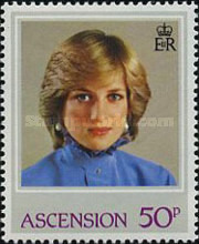 [The 21st Anniversary of the Birth of Diana, Princess of Wales, 1961-1997, Typ JF]