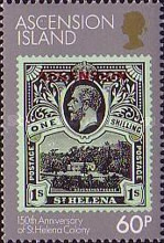 [The 150th Anniversary of St. Helena as a British Colony, Typ KJ]