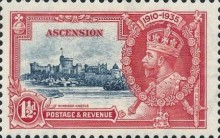 [The 25th Anniversary of the Accession of King George V, type M]