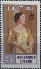 [The 90th Anniversary of the Birth of Queen Elizabeth the Queen Mother, 1900-2002, Typ QM]