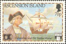 [The 500th Anniversary of Discovery of America by Columbus and Re-enactment Voyages, Typ SJ]