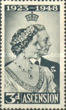[The 25th Anniversary of the Wedding of King George VI and Queen Elizabeth, type T]