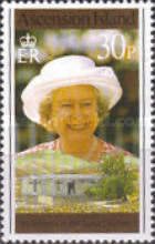 [The 70th Anniversary of the Birth of Queen Elizabeth II, Typ WA]