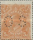 [King George V - Postage Stamps Perforated